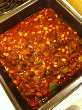 Hot Tamale Pie Filling